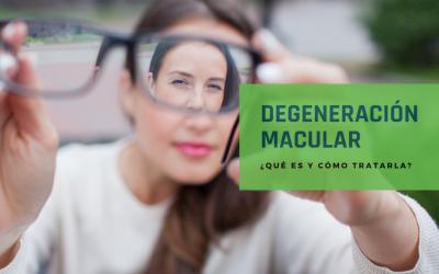 ¿Qué es y cómo tratar la degeneración macular?