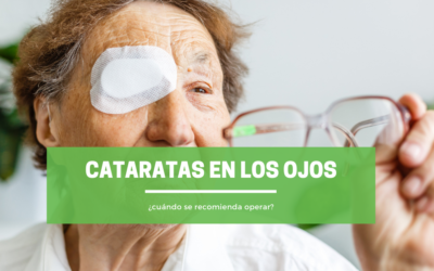 Cataratas en los ojos: ¿cuándo se recomienda operar?
